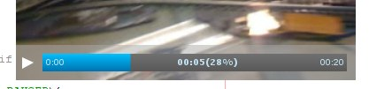 Video player how-to: the control bar.